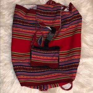 Handbags - Boho backpack